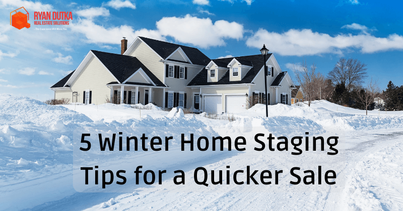 5 Edmonton Winter Home Staging Tips For A Quicker Sale