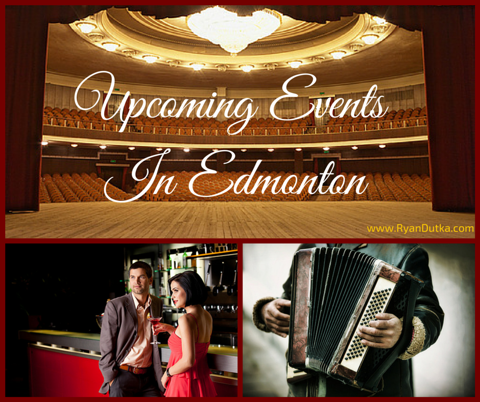 Upcoming events in Edmonton